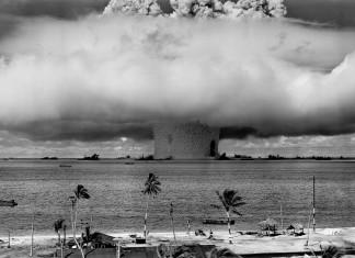 underwater nuclear explosion: Operation Crossroads Baker