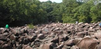 Ringing Rocks Park pennsylvania, sonorous stones, ringing stone , ringing stone video, best video of ringing stones, sonorous stones Ringing Rocks Park pennsylvania