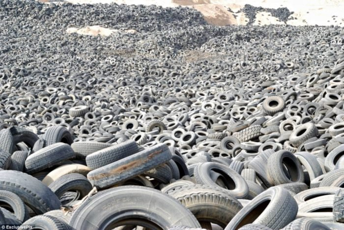 Mystery Places On Earth Discover The Worlds Largest Tire Graveyard In Kuwaits Desert