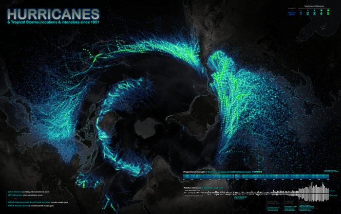 hurricane map John Nelson