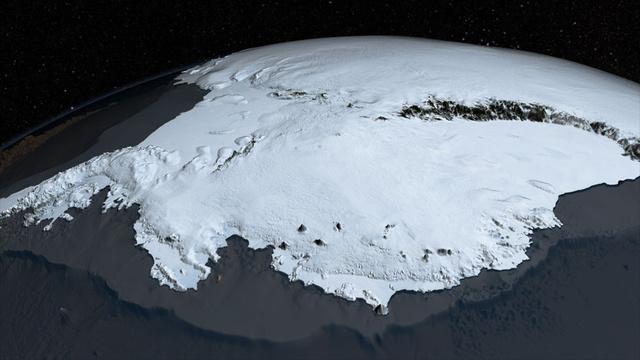 Antarctica ice cap