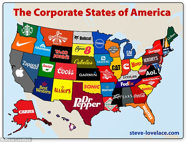 corporate map of the usa, largest companies in the us, largest companies in the us map, map largest companies in the us, major brand in your state, Corporate Map of the USA, major brand by state, largest company by state, largest companies in the us, us corporate map, map of brand for each states in the usa, us most representative brand for each state, map of us brand, what are the most important brand for each us state, map of the what are the most important brand for each us state, brand and us state map, map of usa: brands, map brand vs us state, map of well-known brands in us states, map shows brands assigned to us state, map of brands, map of us corporation, best us world map, best us brand map, map of brands in the USA