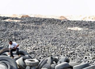tire graveyard kuwait, largest tire graveyard kuwait, tyre graveyard kuwait, tyre graveyard kuwait