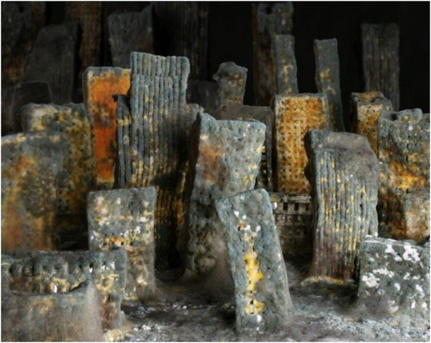 'Decor' By Johanna Martensson: Photos of a City of Bread Decomposing Over 6 Months