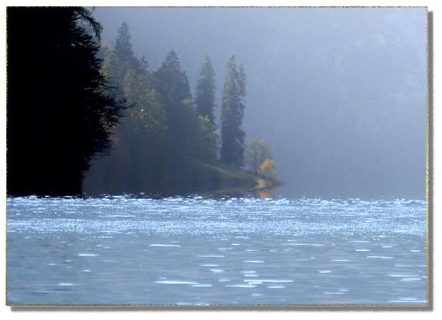 mystic lake königssee in Bavaria