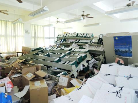 taiwan earthquake and landslide june 2013