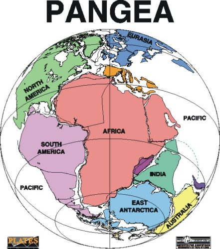 Pangea, Pangea Map, pangea break up, pangea formation, pangea breakup