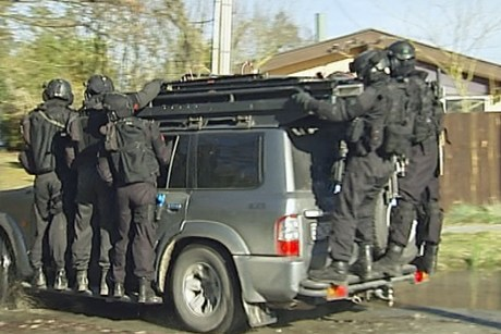 police training t red zone christchurch new zealand