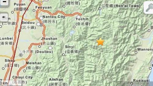 taiwan quake june 2013, large earthquake in taiwan june 2013, Nantou Countyquake june 2013, Nantou County deadly quake june 2013