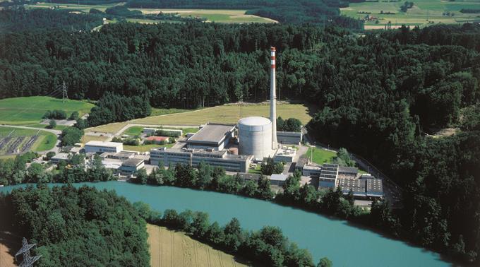 Kernkraftwerk Muehleberg, nuclear reactor of Mühleberg