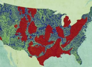 Fracking is turning our beautiful America into a toxic hell! And this map shows where you shouldn't drink tap water in the US