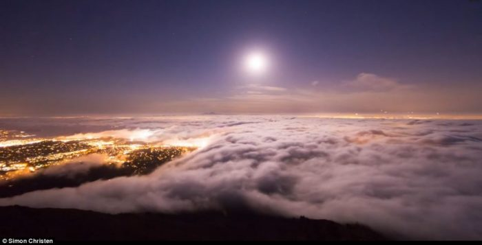 adrift: mesmerizing video of foggy San Francisco, amazing photo and video of foggy san francisco and iconic golden gate bridge