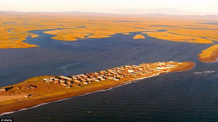 kivalina alaska climate change, kivalina victim of climate change, kivalina residents are the first us climate change residents, kivalina climate change refugee