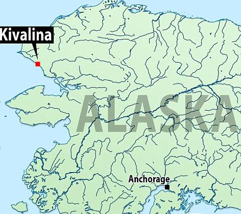 kivalina alaska map, kivalina alaska climate change, kivalina victim of climate change, kivalina residents are the first us climate change residents, kivalina climate change refugee