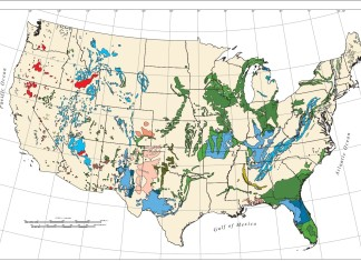 map of us sinkhole,map karst in the usa, sinkhole hazard map