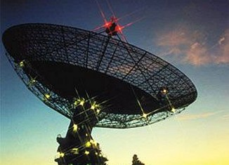 mysterious signals from outer space recorded using CSIRO Parkes 64metre radio telescope in Australia