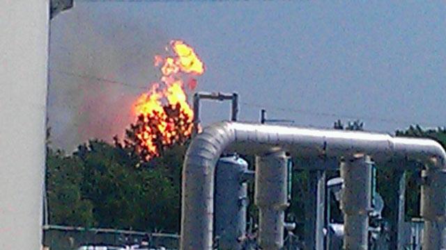 kiowa pipeline explosion