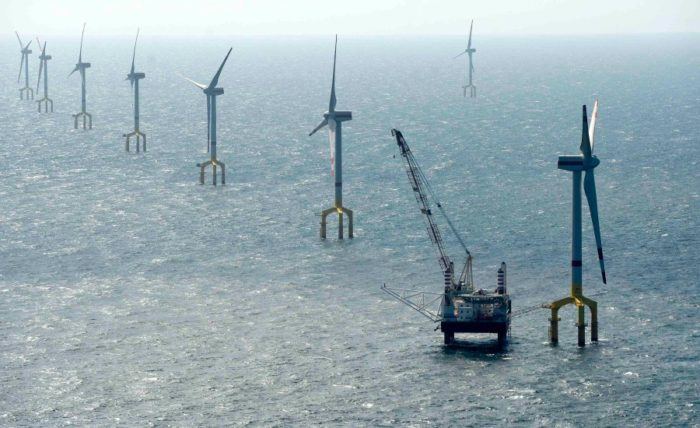 bard offshore 1 is the largest high sea wind farm in germany and opened in AUgust 2013, largest wind farm in germany opens in august 2013