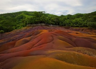 Seven Coloured Earths, Seven Coloured Earths pictures, Seven Coloured Earths video, Seven Coloured Earths mauritius photos and videos, Mysterious Seven Coloured Earths at Chamarel