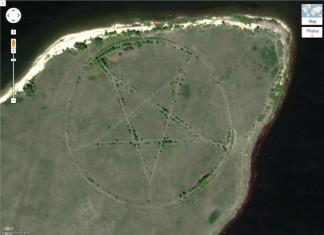 pentagram kazakhstan, mysterious pentagram kazakhstan, weird pentagram kazakhstan, strange star-like pentagram kazakhstan, pentagram kazakhstan video, pentagram kazakhstan photo, What is the origin of this mysterious pentagram discovered in remote Kazakhstan on Google Maps.