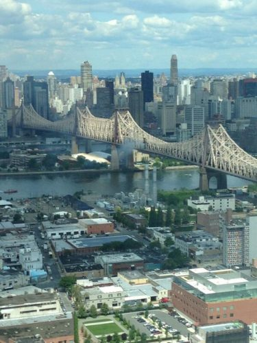 truck explosion and fire new york, Big rig fire appears to be out on Queensboro Bridge