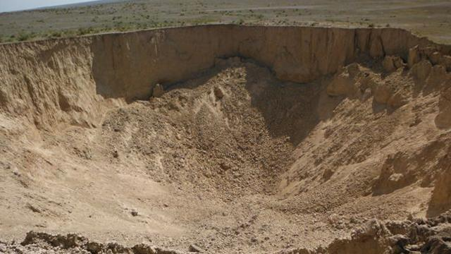 sinkhole formation in wallace county kansas