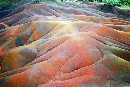The Seven Coloured Earths on mauritius island