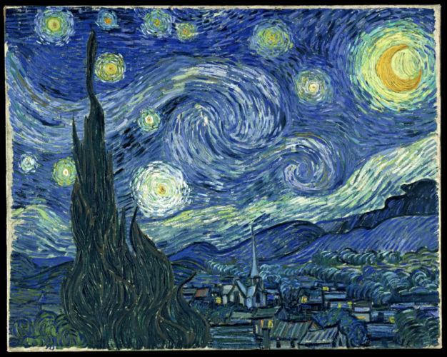 van gogh starry night are ufos, vangogh starry night, vangogh, starry nightvan gogh paintings, crazy van gogh paintings
