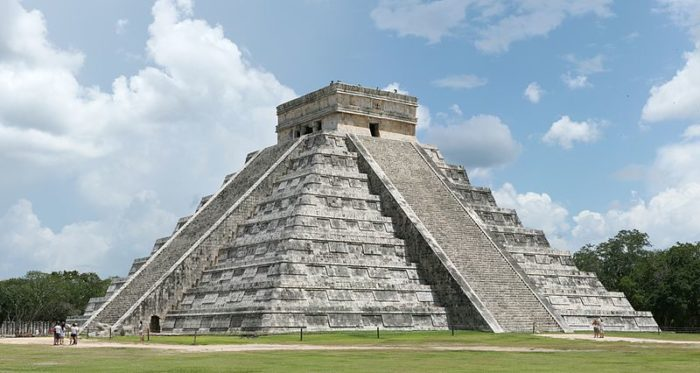 Chichen Itza: El Castillo pyramid of Kukulcán, Chichén Itzá, Chichen Itza, El Castillo, pyramid of Kukulcán, in Chichén Itzá, acoustic anomaly El Castillo, acoustic chirping El Castillo, chirping: El Castillo, chirping: pyramid of Kukulcán, singing pyramids: pyramid of Kukulcán, chirping pyramids: pyramid of Kukulcán, maya pyramid pyramid of Kukulcán makes strange chirping sound, Did the Maya Build Chirping Pyramids in Chichén Itzá?, chirping pyramids of Chichén Itzá, amazing sound oddity: chirping pyramids of Chichén Itzá