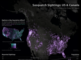 bigfoot sighting map, bigfoot map, map of bigfoot sighting, This bigfoot sighting map shows all sasquatch reports in Canada and the USA within the last 92 years., Sasquatch Sightings map, sasquatch map, us and canadian sasquatch sightings map, Bigfoot reports map, Sasquatch reports map, Skookum reports map, Yahoo reports map, Sasquatch sightings map, Skookum sightings map, Yahoo sightings map, map of bigfoot, us and canada bigfoot sightings, us and canada bigfoot sightings map, map of us bigfoot reports, map of canada sasquatch reports, Map Shows 3,312 Bigfoot Sighting Locations Over 92 Years, Squatch Watch: 92 Years of Bigfoot Sightings in the US and Canada, mysterious phenomenon map, map of sasquatch, map of bigfoot, september 2013