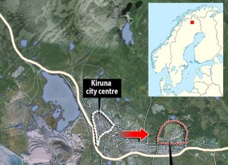 kiruna city relocation, kiruna city sweden, kiruna mining, kiruna city center relocation, kiruna is being relocated due to mining activities