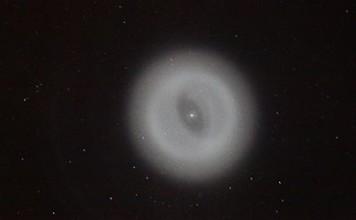 mysterious white halo - strange sky phenomenon