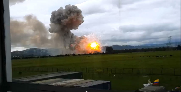 [Raw Footage] Fireworks Factory Explodes In Colombia ...