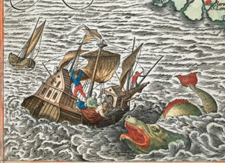 sea monster, sea monster ancient maps, sea monster imagination, sea monster compilation, medieval sea monster, The Enchanting Sea Monsters on Medieval Maps, The sea monsters that populated European medieval and renaissance imaginations Read more: http://blogs.smithsonianmag.com/artscience/2013/10/the-enchanting-sea-monsters-on-medieval-maps/#ixzz2icrpZ2mN Follow us: @SmithsonianMag on Twitter, medieval underwater creature, underwater creature, sea monster map, sea monster drawing, sea monster ancient map, ancient sea monster photo,