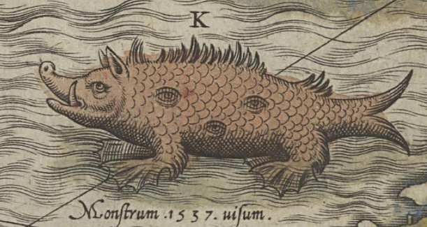 Mysterious Sea Monters on Ancient Maps