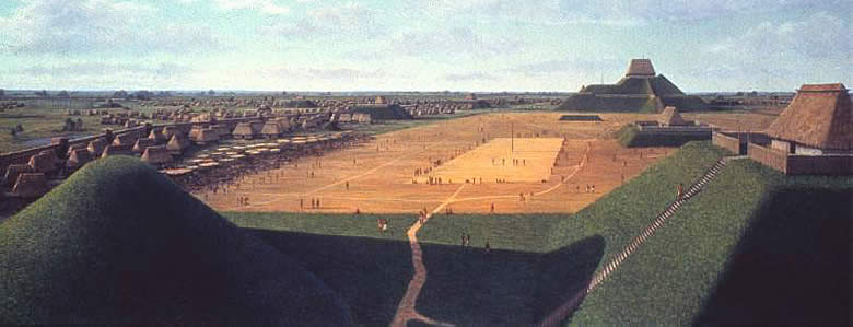Mysterious ruined cities: Cahokia in the USA, Mysterious ruined cities, Cahokia,USA