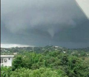 Shocking Tornado Footages In Aguada Puerto Rico