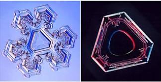 form of snowflakes: triangular snowflakes, mystery of triangular snowflakes, triangular mystery snowflakes, snowflake forms, strange snowflake forms, triangle snowflake form, form of snowflakes, triangular snowflakes, strange snowflake form