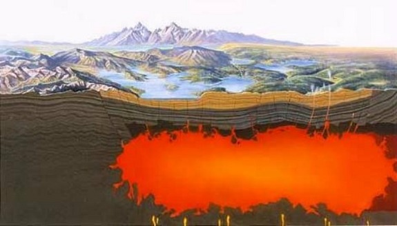 yellowstone volcanism, yellowstone supervolcano, yellowstone earthquake, yeallowstone magma chamber, yellowsone killer hazard are earthquake not eruptions, earthquakes at yellowstone, yellowstone supervolcano eruption, Magma pocket under Yellowstone national park