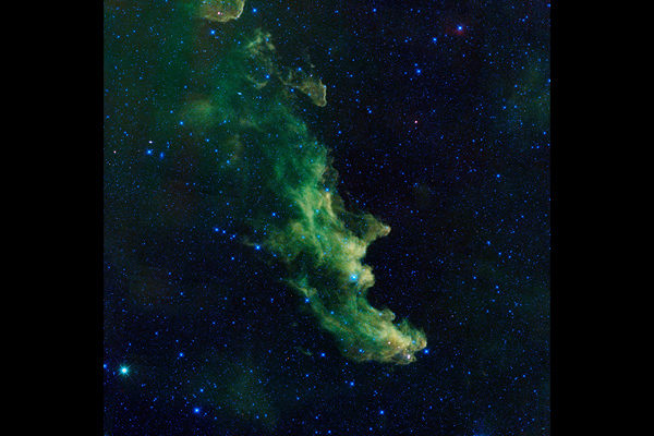 Witch nebula, strange nebula forms, weird gaseous clouds in outer space, strange nebula forms, scary nebula names, halloween in outer space: the witch nebula, a nebula looks like a witch, outer space nebula looks like a witch, scary witch nebula, witch nebula IC 2118, scary nebula forms, nebula with weird forms, strange space nebula forms