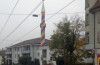 minaret zurich gay colors, minaret gay colors, minaret rainbow colors zurich