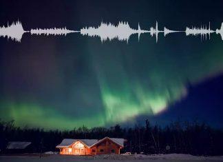 aurora sounds, northern lights sound, aurora sound video, northern lights sound video