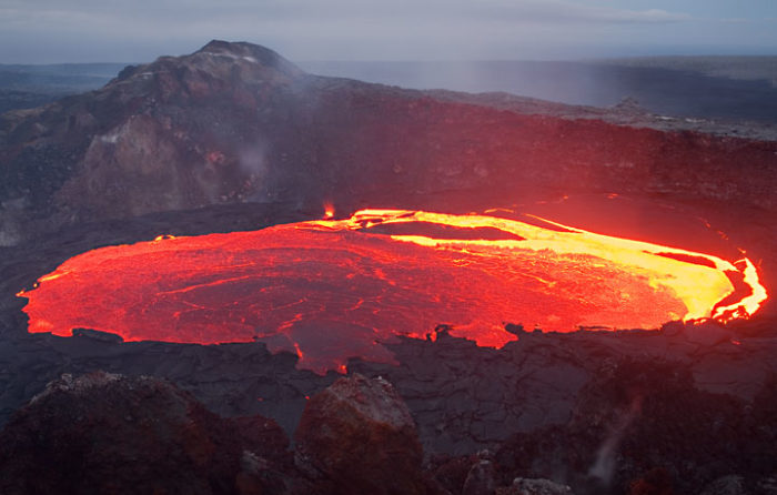 Kilauea volcano in Hawaii, Mesmerizing Lava Lake Movement Revealed in Time-Lapse Video, lava lake movement video, Kilauea volcano in Hawaii lava lake movement, Kilauea volcano on Hawaii
