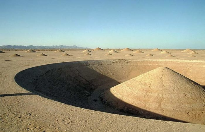 Desert Breath: Mysterious cones in the middle of the Egyptian desert