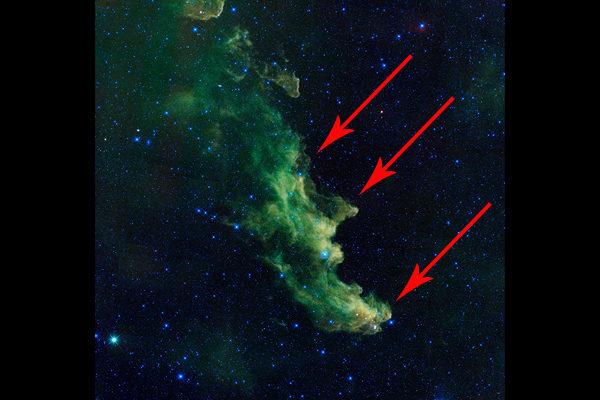witch nebula, witch nebula picture, witch nebula space, witch nebula halloween