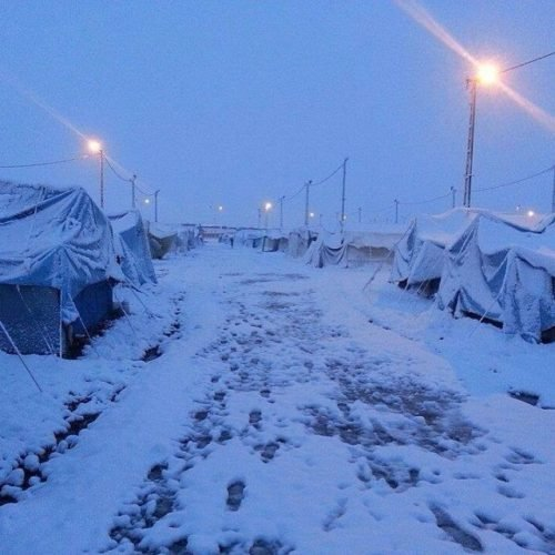 Refugee camp under snow after snow storm in Syria and Jerusalem - December 2013, snow in Egypt,snow in Jerusalem, snow in Syria, surprising snown storm