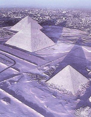 Pyramids of Egypt covered by snow - December 2013, Egypt pyramids, Egypt pyramids covered by snow, snow over Egypt pyramids, Egypt pyramids snow, it's snowing in Egypt, Egypt under snow, for time since 100 years it snows in Egypt, Egypt pyramids under snow snow in Egypt for the first time since 100 year, Snow Covers Egypt for First Time in 100 Years, snow pyramids egypt, photo pyramids under snow, snow over pyramid photo, egypt pyramids snow 2013, december 2013 first snow in egypt since 100 years