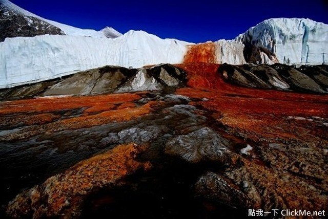 Blood Falls Antarctica, The mysterious Blood Falls in Antarctica, The mysterious Blood Falls in Antarctica pictures, The mysterious Blood Falls in Antarctica video
