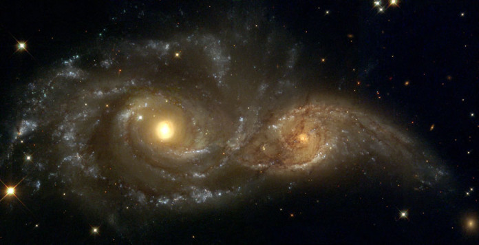 Spiral Galaxies in Collision , Spiral Galaxies in Collision photo, astronomy photo, photo of space phenomenon, weird space phenomenon, photo of colliding galaxies, galaxy collision, collision of galaxy, collision of two galaxies, two galaxies in collision, colliding galaxies photo, galaxy collision photo, collision of galaxy photo, collision of two galaxies photo, two galaxies in collision photo, colliding galaxies photo