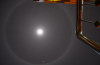 moon halo, sun halo, what creates moon halo, what makes moon or sun halo?, how are moon halo created, what makes halo around the sun or moon?, moon halo philippines, Moon halo philippines January 13 2014, moon halo january 13 2014, strange sky phenomenon: moon halo philippines 2014